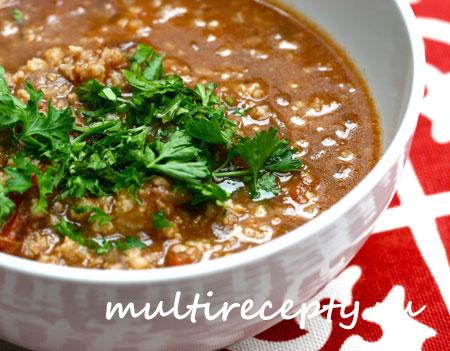 Суп харчо в мультиварке рецепт