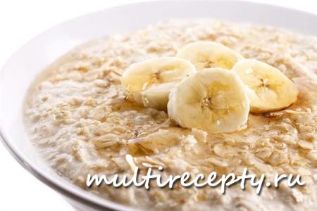 Овсянка с бананом вкусное и полезное блюдо, которое понравится и взрослым и детям