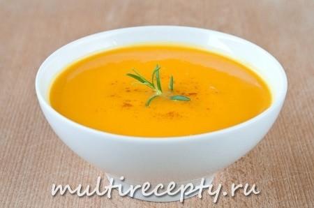 Суп с тыквой в мультиварке