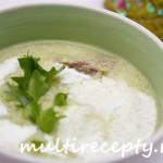 Суп-пюре с белой фасолью