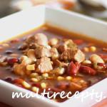 Фасолевый суп  ( 4 рецепта)