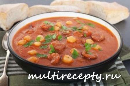суп пюре томатный рецепт для мультиварки