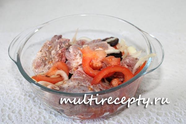 Рецепт свинины в мультиварке фото