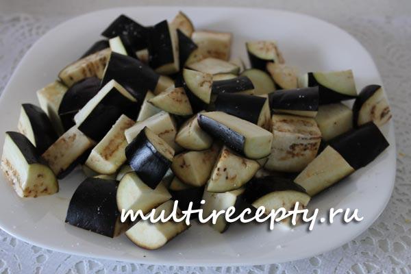 Как приготовить баклажаны в мультиварке рецепт