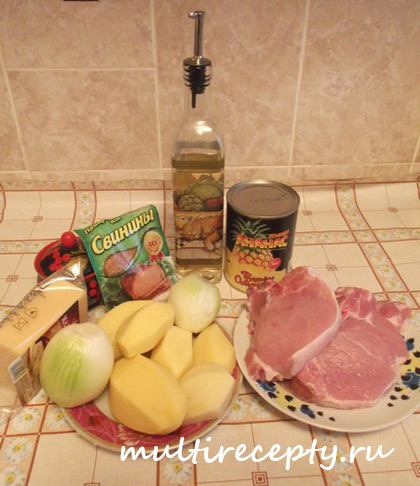 Как приготовить свинину в мультиварке фото