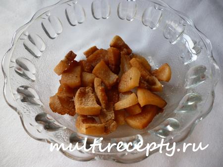 Рецепт жареной картошки в мультиварке
