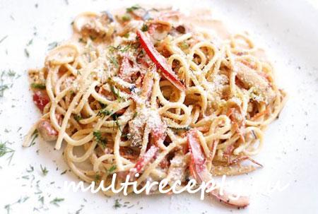 Как варить спагетти в мультиварке