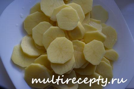 Индейка с картошкой в мультиварке