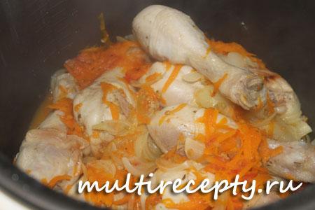 Как приготовить курицу в мультиварке
