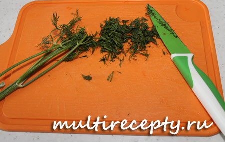 Готовим овощную начинку в мультиварке