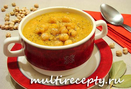 Суп из нута в мультиварке рецепт с фото