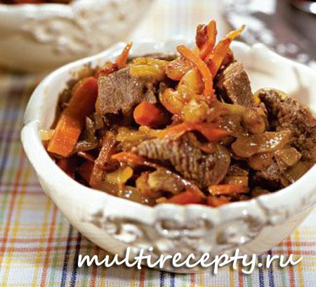 Рецепты тушеного мяса в мультиварке с фото