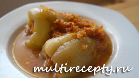 Как приготовить фаршированный перец в мультиварке