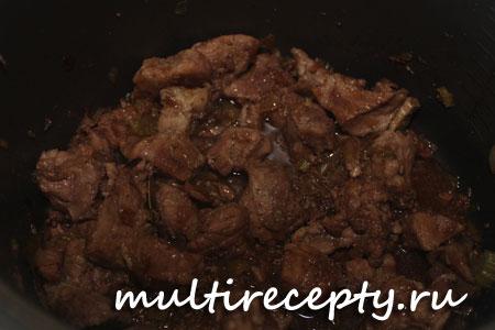 Приготовление мяса в мультиварке рецепт