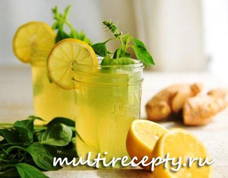 Имбирный лимонад в мультиварке