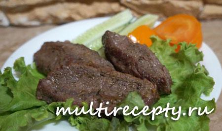 рецепт приготовления стейка из говядины в мультиварке