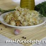 Рецепт ленивых голубцов в мультиварке