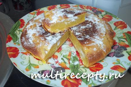 приготовление кекса в мультиварке