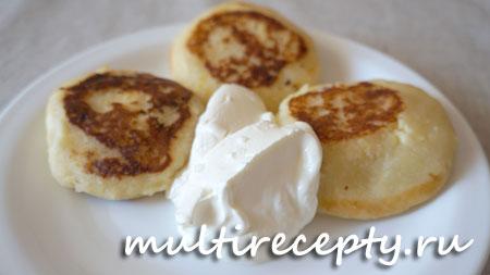 Вкусные сырники в мультиварке рецепт