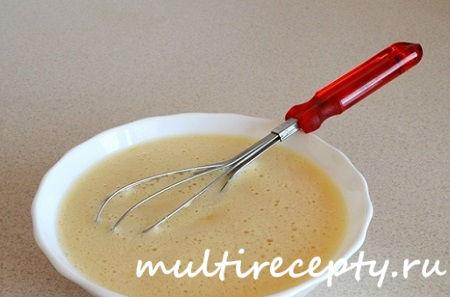 Приготовить тесто для кулича в мультиварке