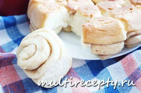 Ароматные сдобные булочки с корицей в мультиварке - это просто и вкусно!