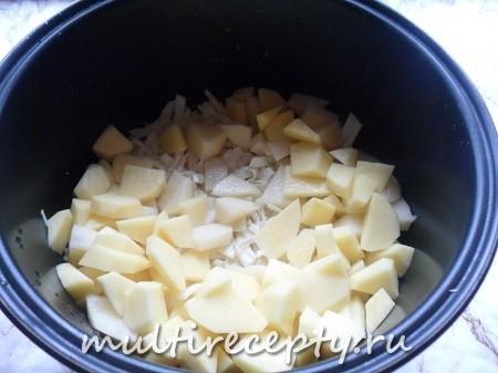 Как приготовить капусту с картошкой в мультиварке