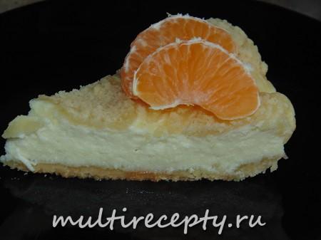 Творожный пирог в мультиварке рецепт