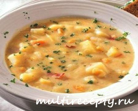 Картофельный суп в мультиварке рецепт