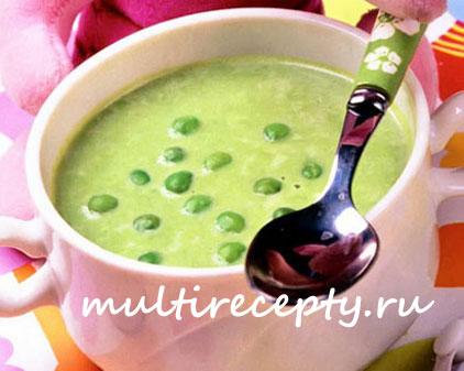 Гороховый суп в мультиварке с беконом