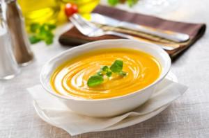 Тыквенный суп с апельсинами