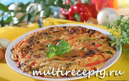 овощной омлет в мультиварке рецепт