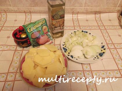 Запеченная свинина в мультиварке с ананасом