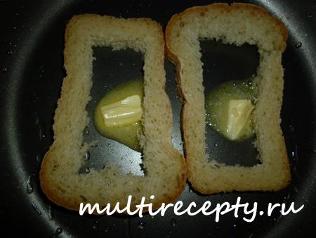 Завтрак из яиц в мультиварке
