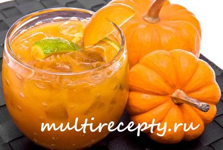 Сок из тыквы в мультиварке рецепт