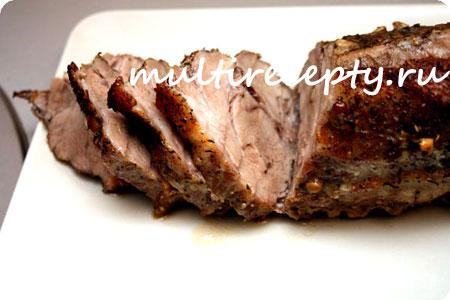 Запеченная свинина целым куском фото