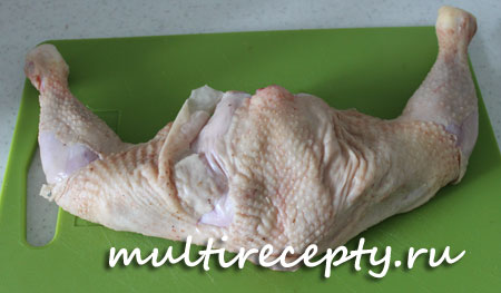 Курица с кабачками в мультиварке рецепт