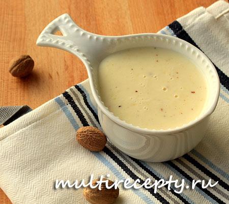 Сливочный соус в мультиварке рецепт с фото