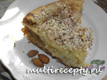 Яблочный пирог в мультиварке