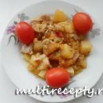 Овощное рагу со свининой