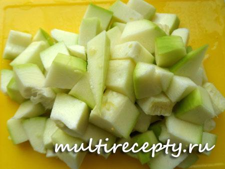 Овощное рагу с мясом в мультиварке пошаговый фото рецепт