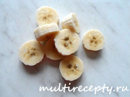 Кисель из кураги, клюквы и банана