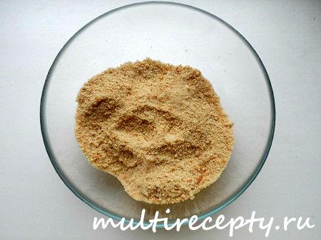 Для приготовления творожного чизкейка можно использовать печенье «Юбилейное»