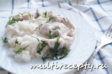 Куриное филе в сметанном соусе - вкусное и полезное блюдо