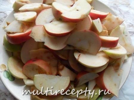 Яблочное повидло в мультиварке