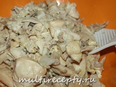 Рецепт куриной тушенки в мультиварке