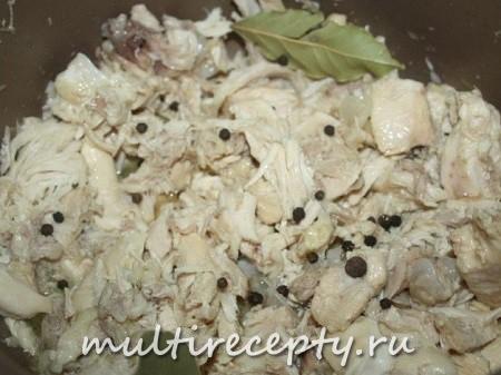 Рецепт тушенки из курицы в мультиварке