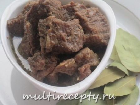 Как приготовить тушенку в мультиварке из говядины рецепт
